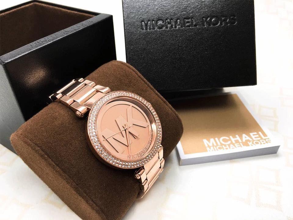 Đồng hồ Michael Kors vàng hồng MK5865