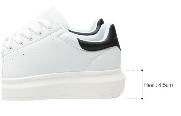 Giày Domba High Point White/White H-9115 Size 37 Màu trắng - 5