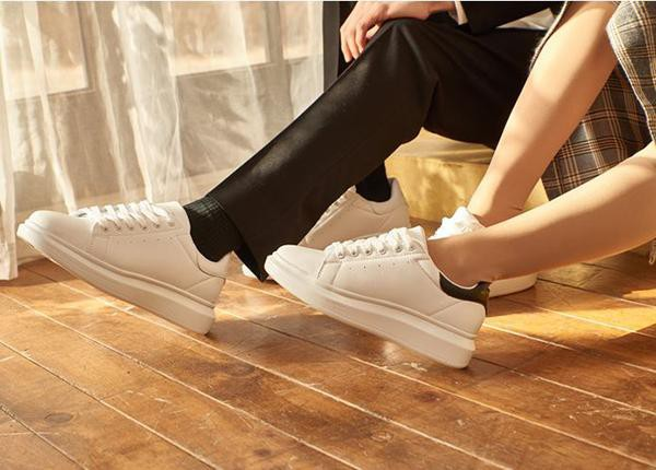 Giày Domba High Point White/White H-9115 Size 37 Màu trắng - 2