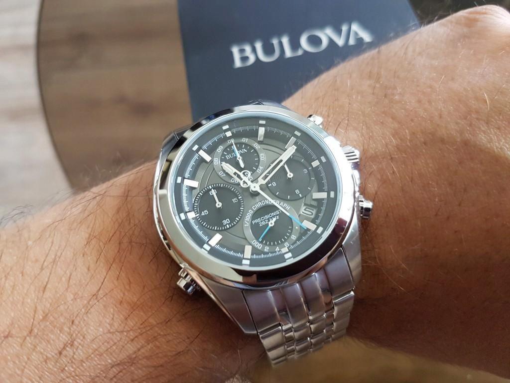 Mua Đồng hồ Bulova 96B260 cho nam, máy quartz, thép không gỉ ảnh 2
