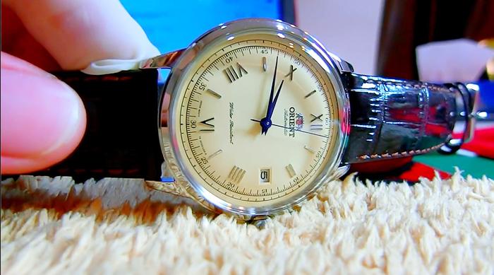 Mua Đồng Hồ Orient Bambino 2.0 FAC00009N chính hãng màu nâu, dây da, Giá tốt ảnh 3