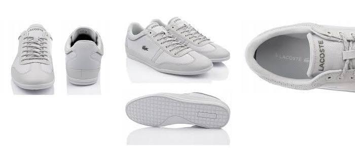 Mua Giày Thể Thao Lacoste Misano Sport 218 cho Nam màu trắng chính hãng, Giá tốt
