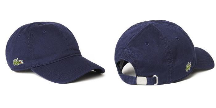 MuaMũ Lacoste Mens Gabardine Cap Navy Màu Xanh Navy Blue Giá Rẻ ảnh 1