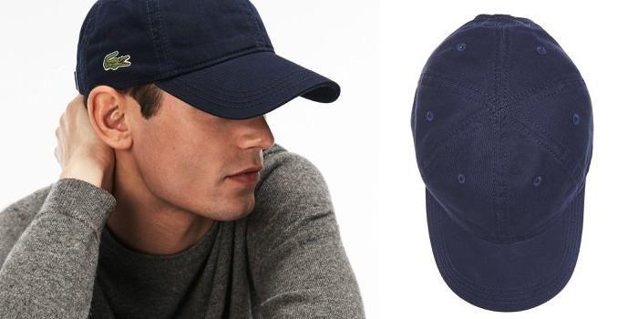 MuaMũ Lacoste Mens Gabardine Cap Navy Màu Xanh Navy Blue Giá Rẻ ảnh 2