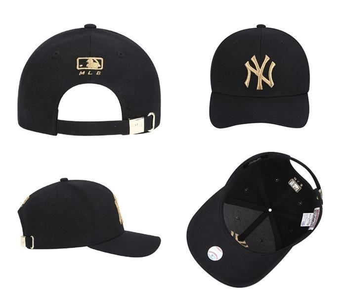 Mua Mũ MLB New York Yankees Glam Adjustable Cap Black màu đen, chính hãng, Giá tốt