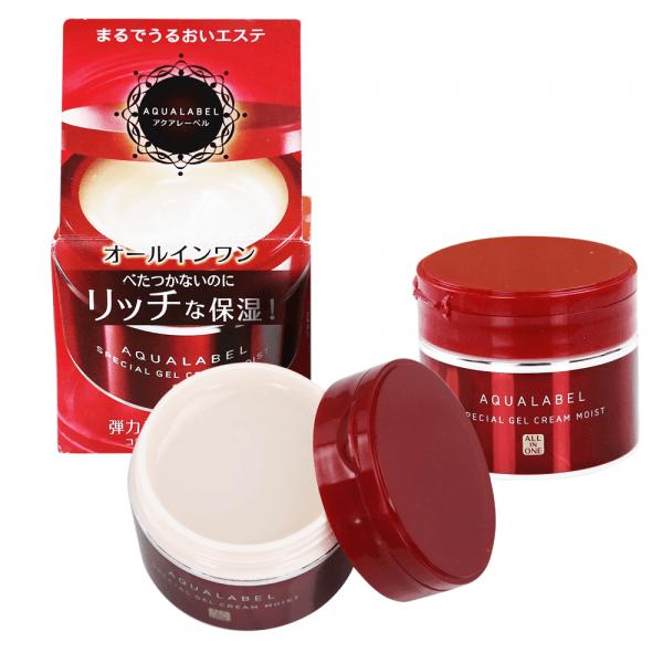 Kem duong Da Shiseido Aqualabel Do chinh hang nhat anh 4