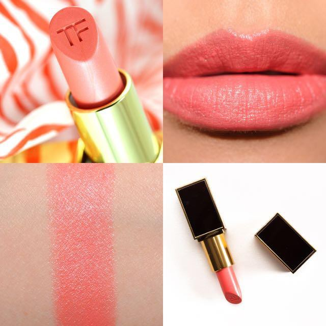 Chat Son Tom Ford Lip Color 21 Naked Coral cam hong