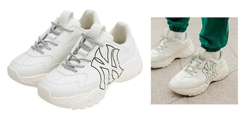 Mua Giày MLB Big Ball Chunky P Size 250 màu trắng chính hãng Hàn Quốc, Giá tốt