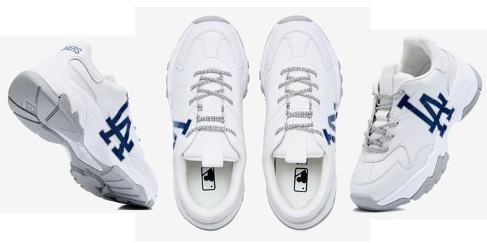 Mua Giày MLB LA Dodgers Sneaker - Big Ball Chunky A Size 270 Hàn Quốc, Giá tốt