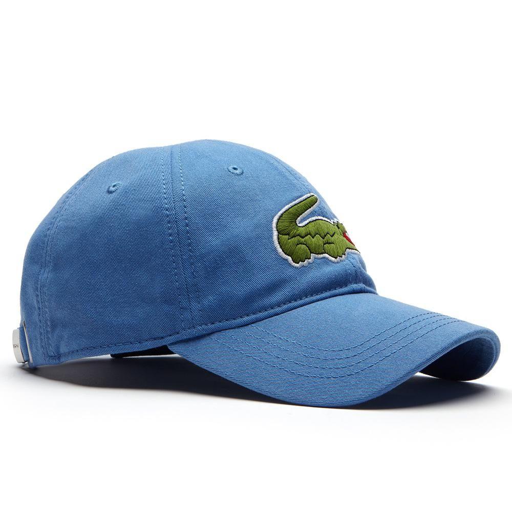 Mũ Lacoste màu xanh nhạt 2