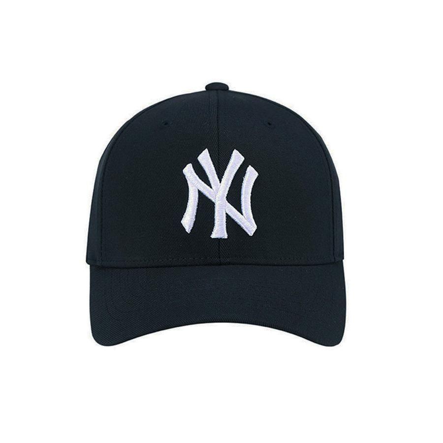 Mua Mũ MLB Men's New York Yankees Adjustable Hat Black màu đen, chính hãng, Giá tốt - 2