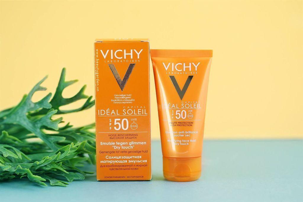 Thành phần Kem Chống Nắng Vichy Ideal Soleil SPF 50