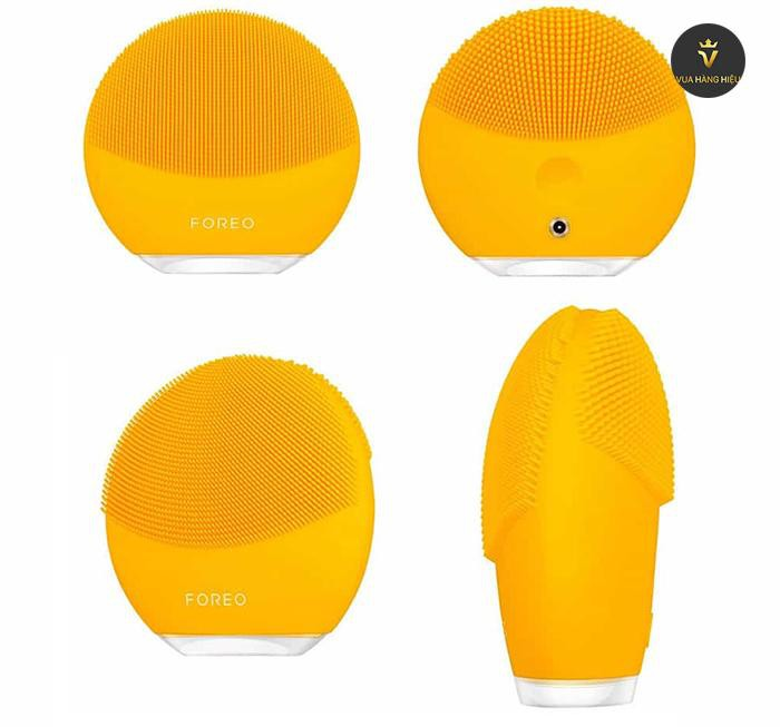 May rua mat foreo luna mini 3 mau vang yellow - Silicone