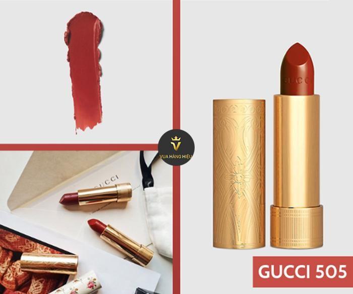 Son Gucci 505 Janet Rust - Chất son