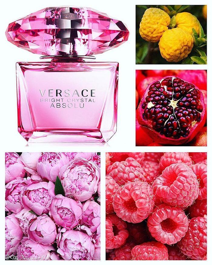 Mùi hương nước hoa Versace Bright Crystal Absolu Mini 5ml tươi tắn, gợi cảm
