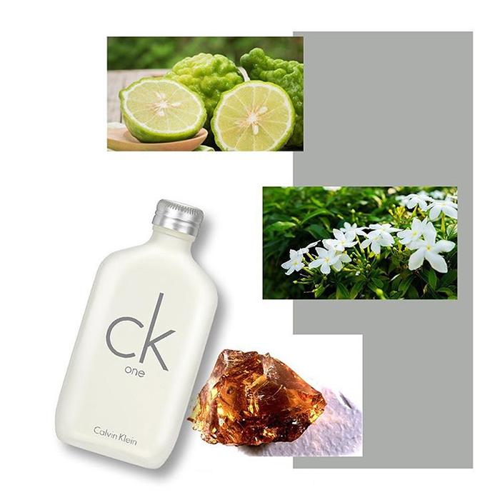 Mùi hương nước hoa Calvin Klein CK One thanh lịch, tinh tế