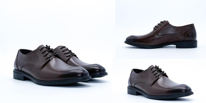 Giày da nam Aokang 19111105638 màu nâu size 38
