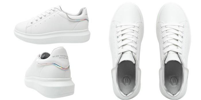 Giày Domba High Point Ps White/Prism H-9015 Màu Trắng Size 37 ảnh 1