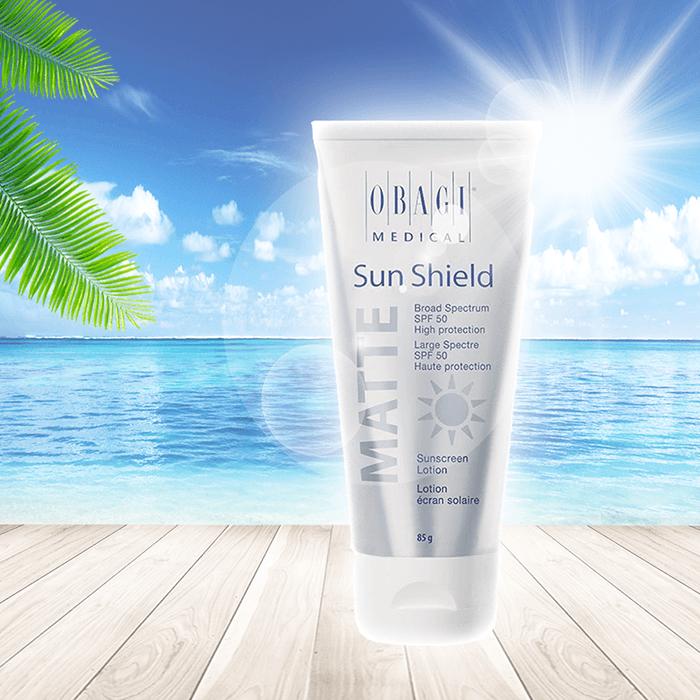 Giới thiệu kem chống nắng Obagi Sun Shield Matte Broad Spectrum SPF 50 Premium 85g cao cấp