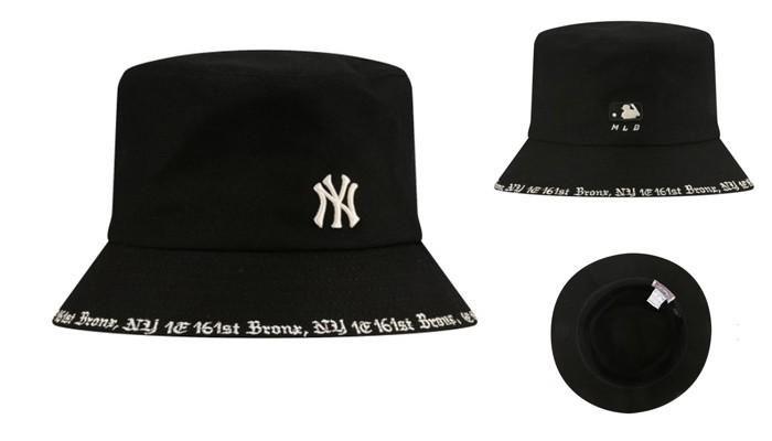 Mũ MLB New York Yankees Busket Màu Đen Size 59H chính hãng Hàn quốc