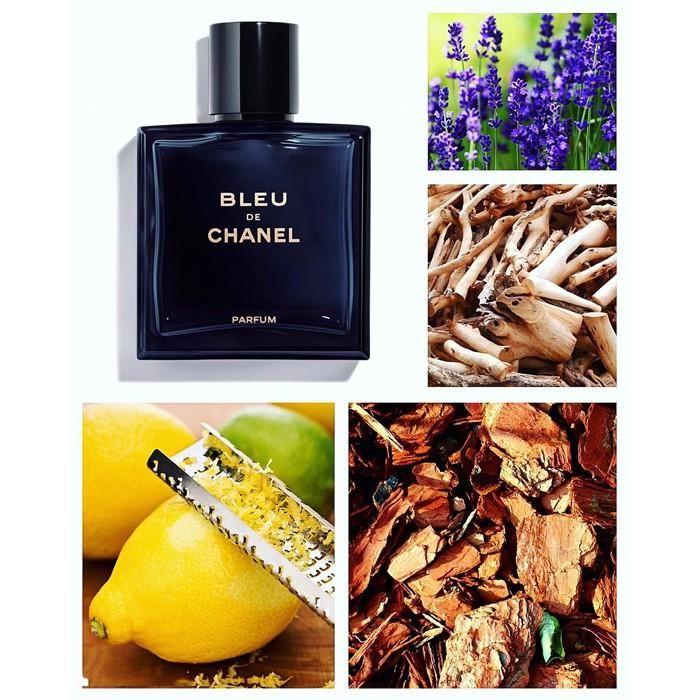 Mùi hương nước hoa Chanel Bleu De Chanel Parfum nam tính, mạnh mẽ