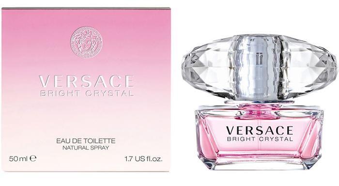Lịch sử ra đời nước hoa Versace Bright Crytal 50ml