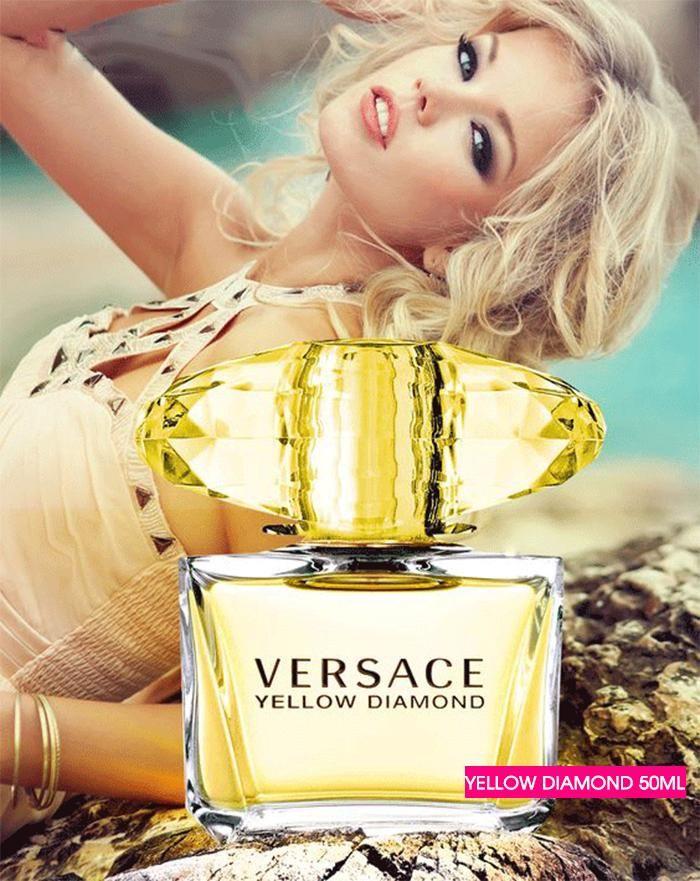Mùi hương nước hoa Versace yellow Diamond 50ml