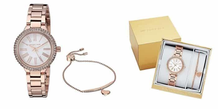 Mua Đồng Hồ Nữ Michael Kors MK3858 Vàng Hồng, dây thép, máy Quartz, Chính hãng, Giá tốt