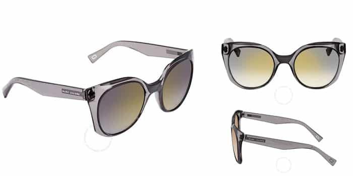 Order Kính Mát Marc Jacobs Gray Gold Gradient Cat Eye Ladies Sunglasses MARC 196/S 0KB7 52 chính hãng, Giá tốt