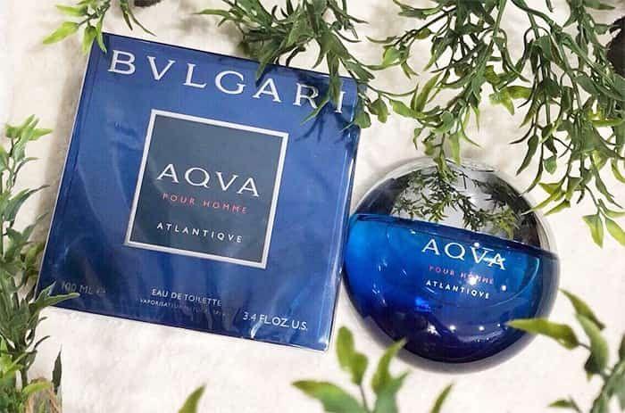Thiết kế chai nước hoa Aqva Pour Homme Atlantiqve 100ml