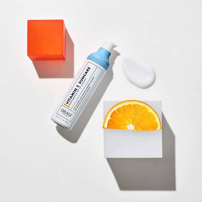 Giới thiệu sản phẩm kem chống nắng Obagi Clinical Vitamin C Suncare Broad Spectrum SPF 30 Sunscreen 48g