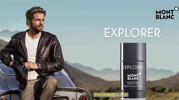 Lịch sử mùi hương lăn khử mùi Montblanc Explorer