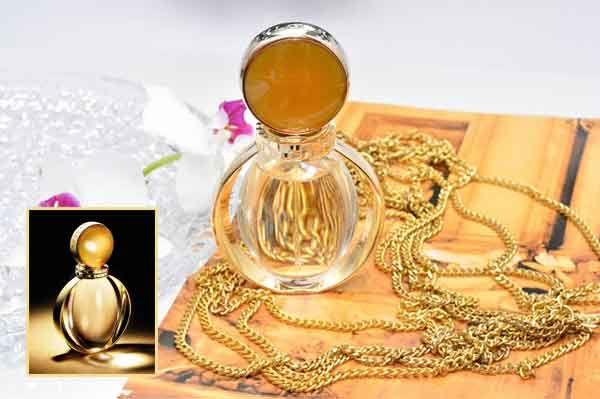 Thiết kế chai nước hoa Bvlagri Goldea mini 5ml