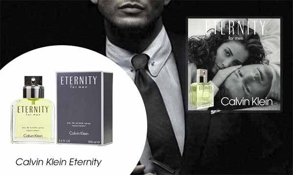 Thiết kế chai nước hoa CK Enternity For Men 100ml