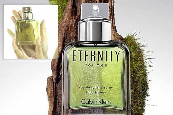 Hương thơm nước hoa Calvin Klein Enternity for Men tươi mát, sảng khoái