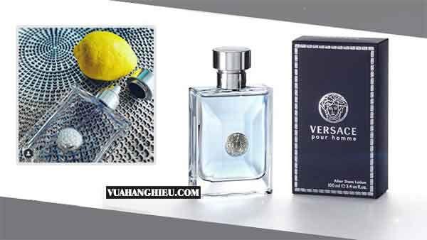 Hương thơm nước hoa Versace Pour Homme 100ml tươi mát, nam tính cao cấp