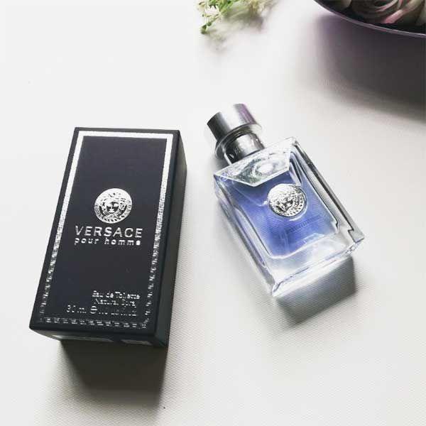 Thiết kế chai nước hoa Versace Pour Homme EDT 100ml
