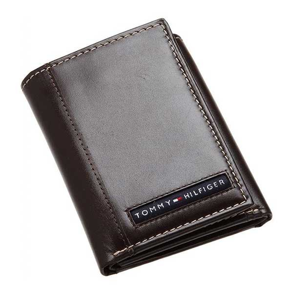 Ví Tommy Hilfiger Mens Cambridge Trifold Wallet Brown 5676/02 Màu Nâu cho nam