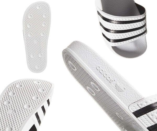 Dép Adidas Originals Adilette Màu Trắng size 39 unisex chính hãng Đức