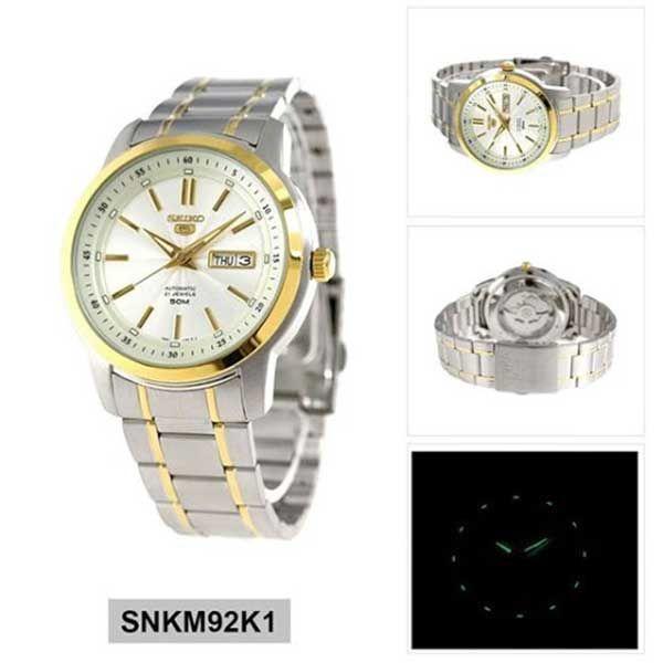 Đồng hồ Seiko SNKM92K1 Automatic chính hãng Nhật Bản