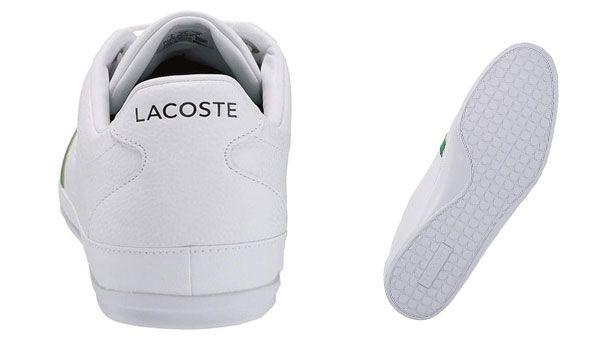 GiàyLacoste Misano 120 Size 39.5 Màu Trắng Cho Nam cao cấp