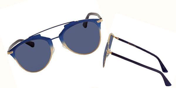 Thiết kế kính Dior Blue Aviator Ladies Sunglasses DIORREFLECTED TVW/KU 52