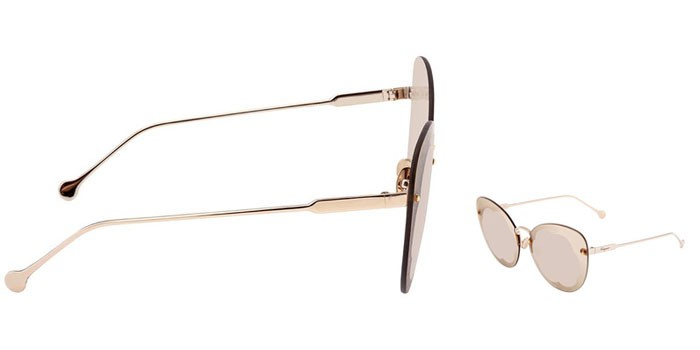 Ưu điểm Kính Mát Salvatore Ferragamo Light Grey Butterfly Ladies Sunglasses