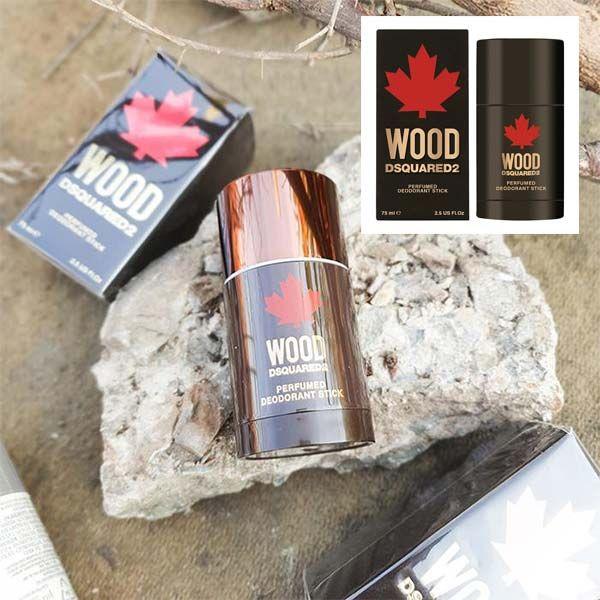 Mùi hương lăn khử mùi Lăn Khử Mùi Dsquared2 Wood Pour Homme 75ml chính hãng