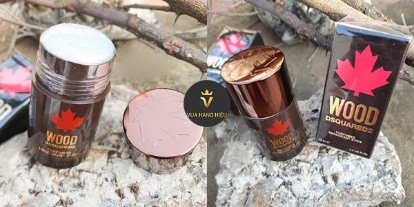 Lăn khử mùi nuớc hoa nam Dsquared2 Wood Pour Homme 75ml
