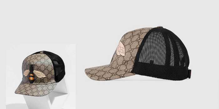 Mũ Gucci Bee Print hình Ong size M nhập khẩu Ý