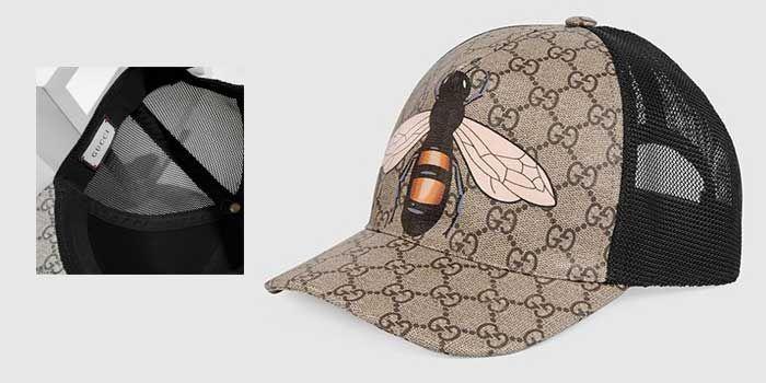 Mũ Gucci Bee Print hình Ong size M chính hãng Ý
