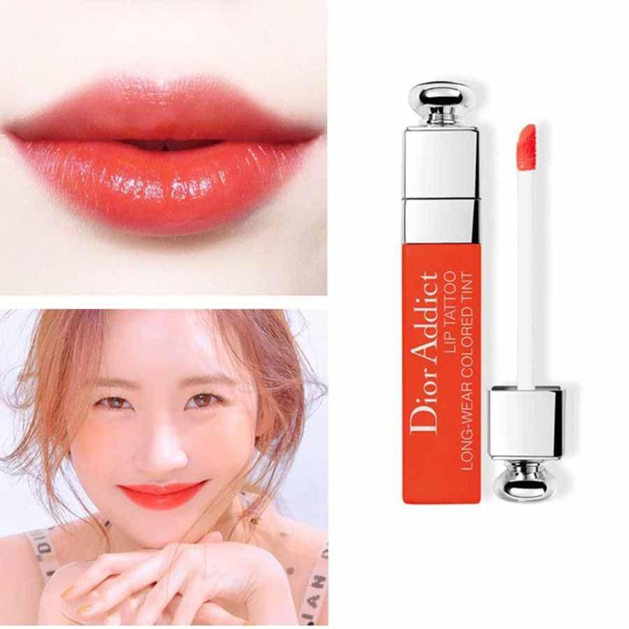 Thiết kế Son Dior Addict Lip Tattoo 641 Orange đẹp ngỡ ngàng