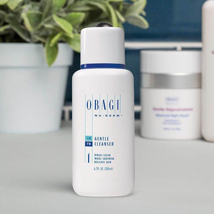Giới thiệu sản phẩm Sữa rửa mặt dưỡng ẩm da Obagi Nu-Derm Gentle Cleanser số 1