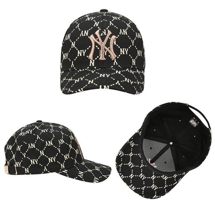 Đặc điểm MLB Dia Monogram Cured Adjustable Cap New York Yankees 32CPFH011-50L Màu Đen